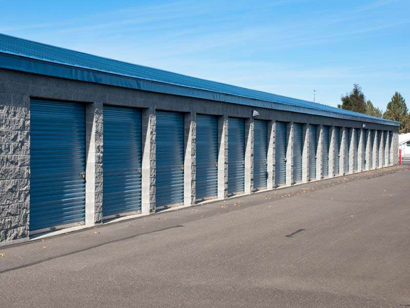 ... Exterior Secure Storage Units